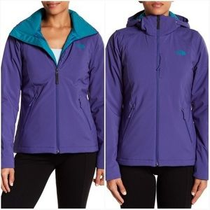 The North Face Purple Turquoise Apex Elevation Jacket